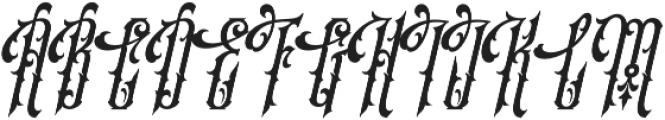 SS Amberosa Stylistic 12 otf (400) Font UPPERCASE