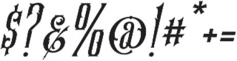 SS Amberosa Stylistic 18 otf (400) Font OTHER CHARS