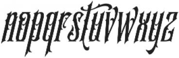 SS Amberosa Stylistic 18 otf (400) Font LOWERCASE