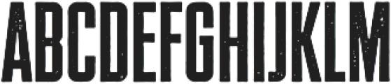 SS GreyHood Nine otf (400) Font LOWERCASE