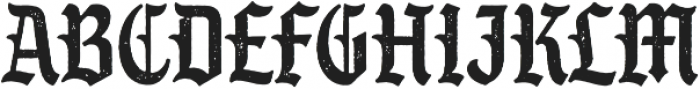 SS GreyHood Seven otf (400) Font UPPERCASE