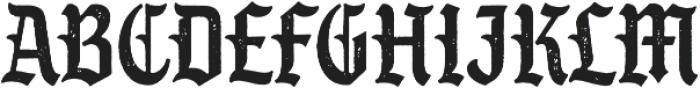 SS GreyHood Seven otf (400) Font LOWERCASE