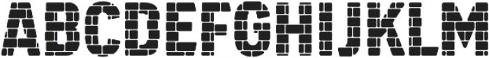 SS GreyHood Six otf (400) Font UPPERCASE