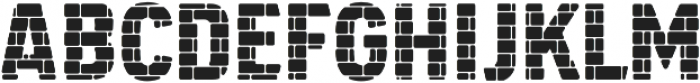 SS GreyHood Six otf (400) Font LOWERCASE