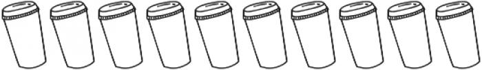SS Mocha Latte Doodles Dingbat otf (400) Font OTHER CHARS