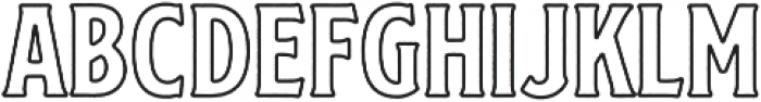 SS Nickson Eight otf (400) Font UPPERCASE