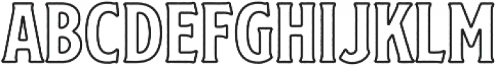 SS Nickson Eight otf (400) Font LOWERCASE
