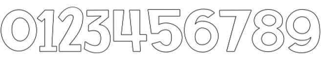 SS Rocket Science Outline otf (400) Font OTHER CHARS
