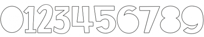SS Rocket Science Solid Outline otf (400) Font OTHER CHARS