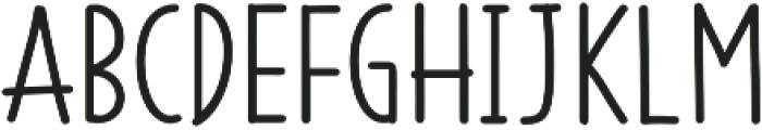 SS Vanilla Gelato otf (400) Font UPPERCASE