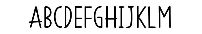 SS Vanilla Gelato Font UPPERCASE