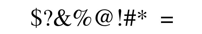 Ssoft's-Veena-ML Font OTHER CHARS