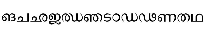 Ssoft's-Veena-ML Font UPPERCASE