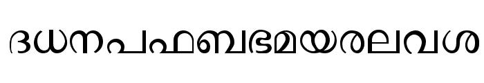 Ssoft's-Veena-ML Font LOWERCASE