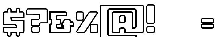 ssboldin-Line Font OTHER CHARS