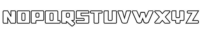 ssboldin-Line Font UPPERCASE