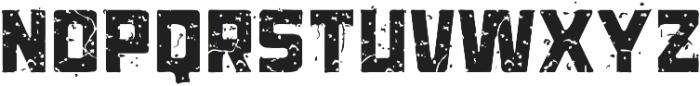 ST-Kooperativ Scratched ttf (400) Font UPPERCASE