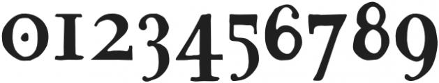 ST-Petrovica Regular otf (400) Font OTHER CHARS