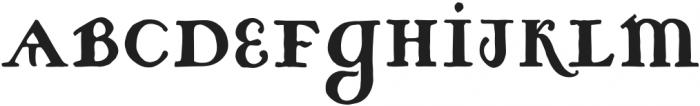 ST-Petrovica Regular otf (400) Font LOWERCASE