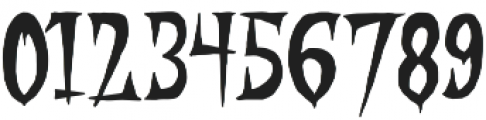 STRANGER CREATURE Regular otf (400) Font OTHER CHARS