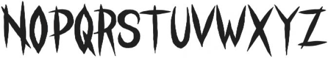 STRANGER CREATURE Regular otf (400) Font LOWERCASE