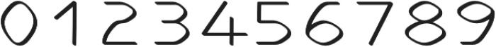Stable regular otf (400) Font OTHER CHARS