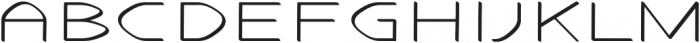 Stable regular otf (400) Font UPPERCASE