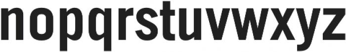 Stacker Bold otf (700) Font LOWERCASE