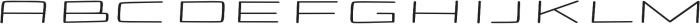 Stamina regular otf (400) Font UPPERCASE