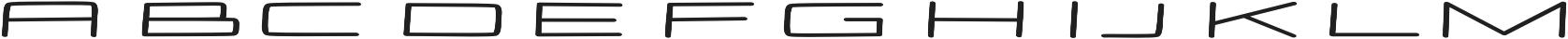 Stamina regular otf (400) Font LOWERCASE