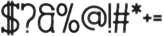 Stammark Rough otf (400) Font OTHER CHARS