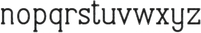 Stammark Rough otf (400) Font LOWERCASE
