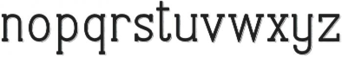 Stammark Shadow otf (400) Font LOWERCASE