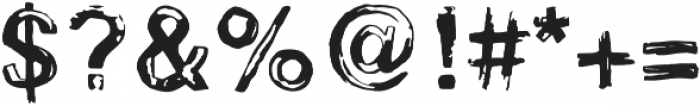 Stamp otf (400) Font OTHER CHARS