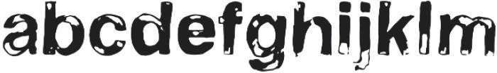 Stamp otf (400) Font LOWERCASE