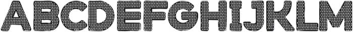 Stampbor Dotted otf (400) Font UPPERCASE