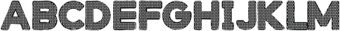 Stampbor Dotted otf (400) Font LOWERCASE