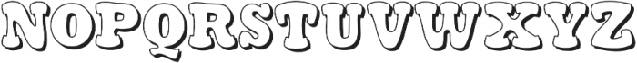 Stampy otf (300) Font UPPERCASE