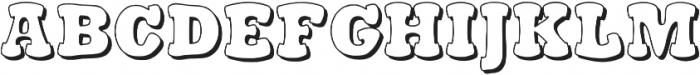 Stampy otf (300) Font LOWERCASE