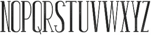 Stand By Slab Grunge ttf (400) Font LOWERCASE