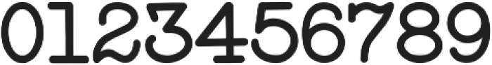 StandardTypewriter Regular ttf (400) Font OTHER CHARS