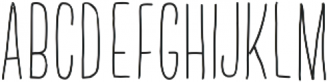 Standing Up by Kestrel Montes otf (700) Font UPPERCASE