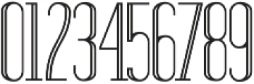 Standy By Regular Inline ttf (400) Font OTHER CHARS