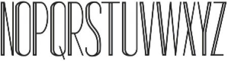 Standy By Regular Inline ttf (400) Font UPPERCASE