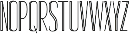 Standy By Regular Inline ttf (400) Font LOWERCASE
