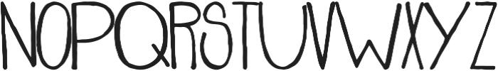 Stanley ttf (400) Font UPPERCASE