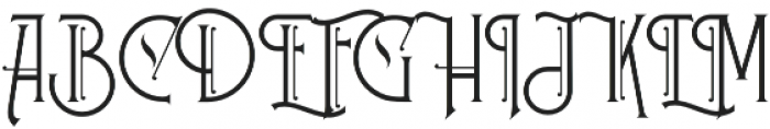 Stanwood otf (400) Font UPPERCASE