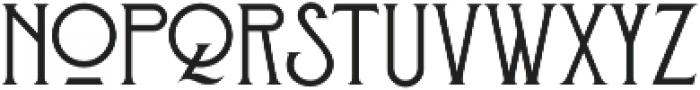 Stanwood otf (400) Font LOWERCASE