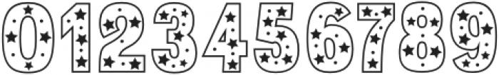 Star Slab Regular otf (400) Font OTHER CHARS