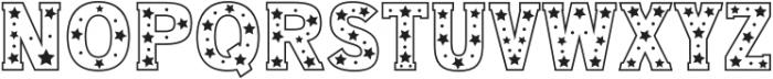 Star Slab Regular otf (400) Font UPPERCASE